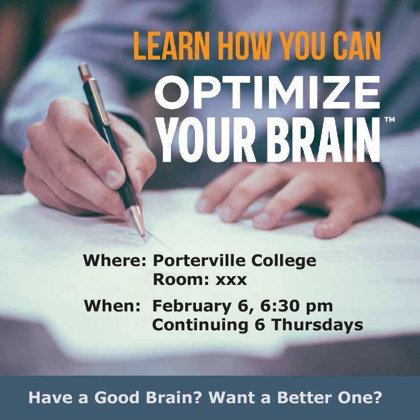 Opetimize Your Brain